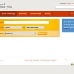 Microsoft Language Portal - Search Terminology